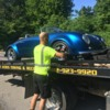 Speedster being towed 3