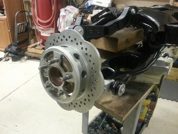 lightened rear corvette rotor