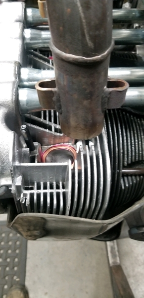 type 4 2.L header not fitting wider engine