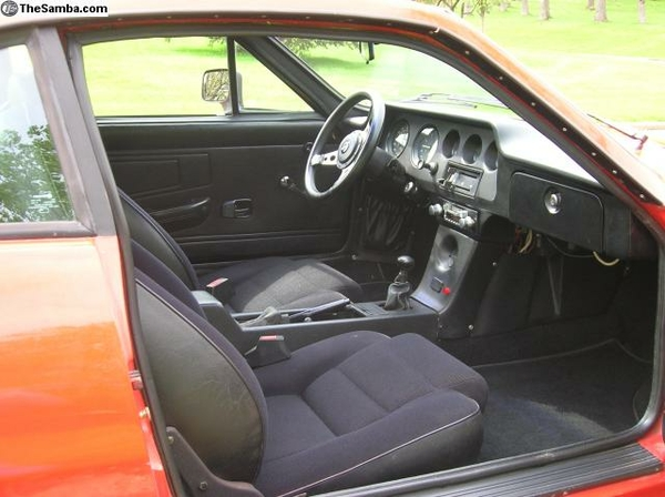 87 Puma GTI interior 1