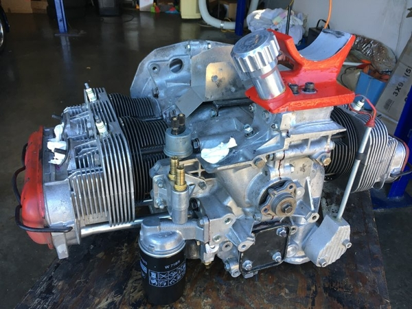 Type 4 2.8L out of car to be diagnosed 2