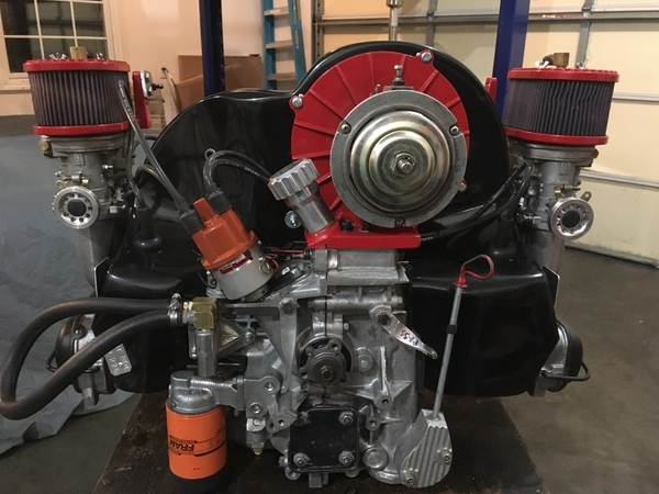 Type 4 2.8 L monster engine after repair 7 1