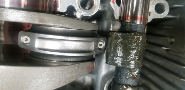 Type 4 2.8L new cam to crank clearance