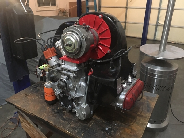 Type 4 2.8 L monster engine after repair 6 1