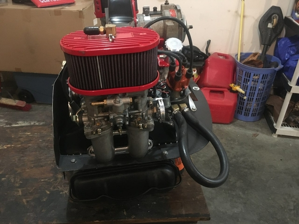 Type 4 2.8 L monster engine after repair 9e1