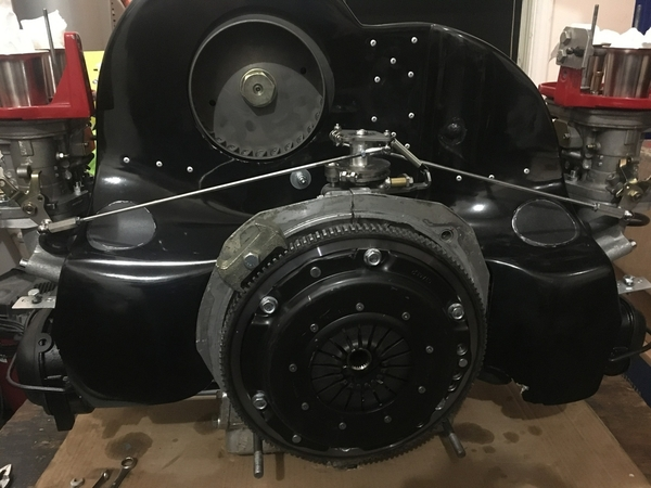Type 4 with Vintage Speed bellcrank linkage 1