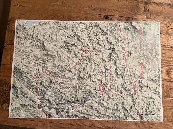 Deliverance Run Map 2