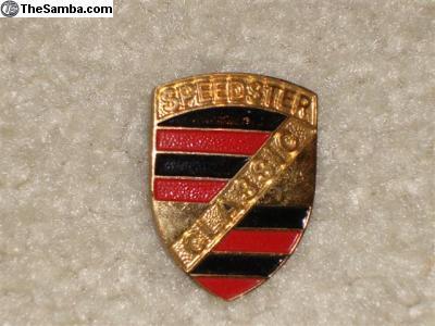 Classic Speedster badge