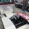 IMG_3683: Peterbuilt, 3 axle, reverse springs 5th wheel