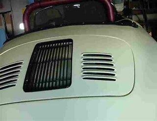 Image result for porsche speedster louvered decklid