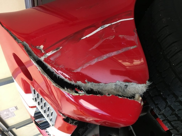 GT40 accident 1
