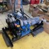 Engine in cradle 2
