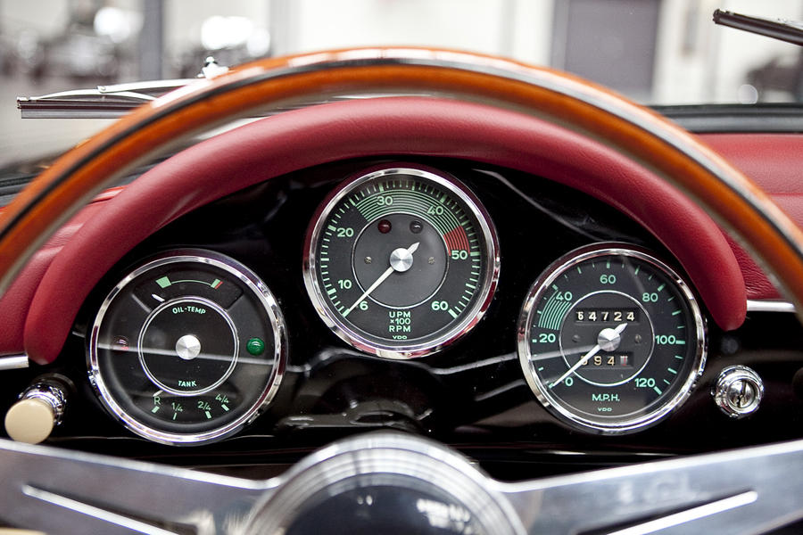 Instrument Cluster Speedsterowners Com 356 Speedsters 550 Spyders Replicas And More